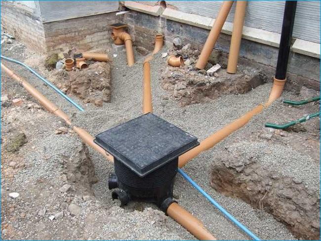 Система отвода дождевых стоков